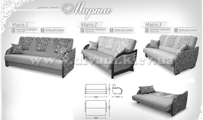 Марта - мебельная фабрика Рата. Фото №4. | Диваны для нирваны