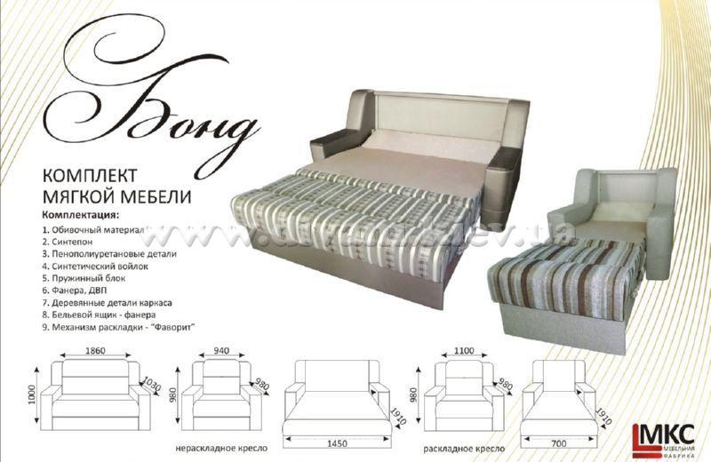 Бонд - мебельная фабрика МКС. Фото №3. | Диваны для нирваны