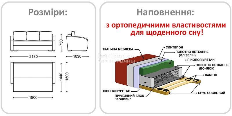 Легінь 3 - мебельная фабрика Рата. Фото №3. | Диваны для нирваны